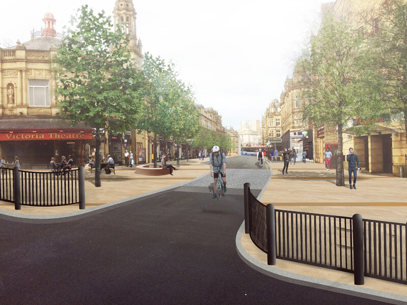 Commercial street concept Halifax town centre