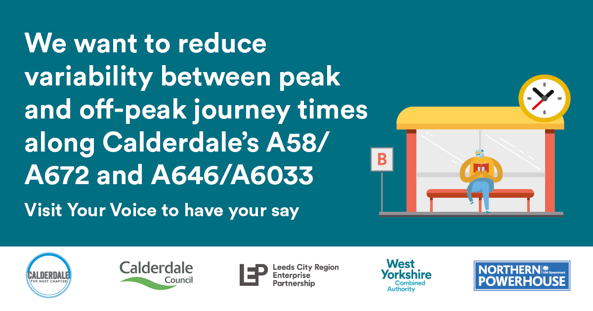 We want to reduce variability between peak and off-peak journey times