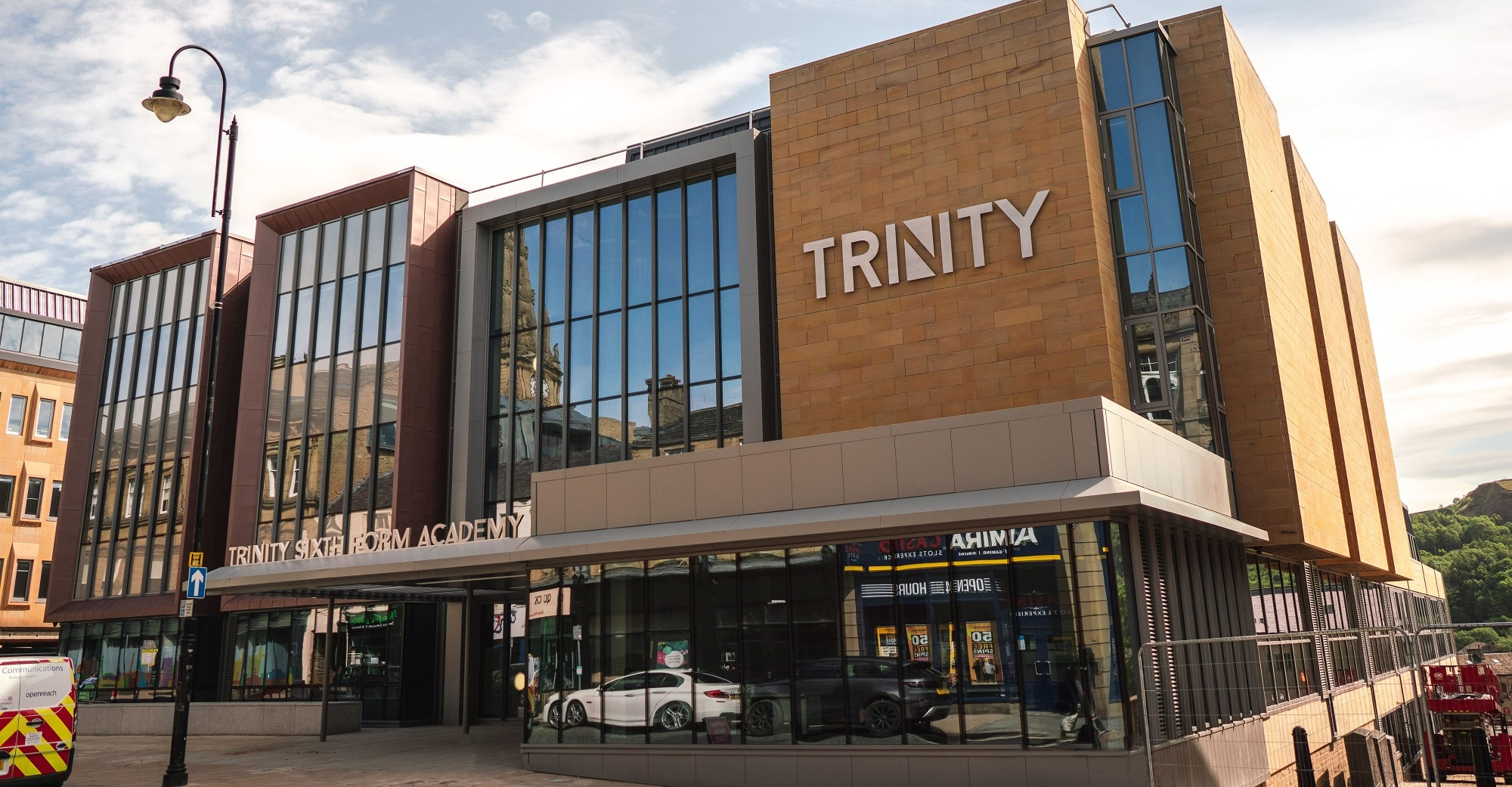 Trinity 6th Form Academy front