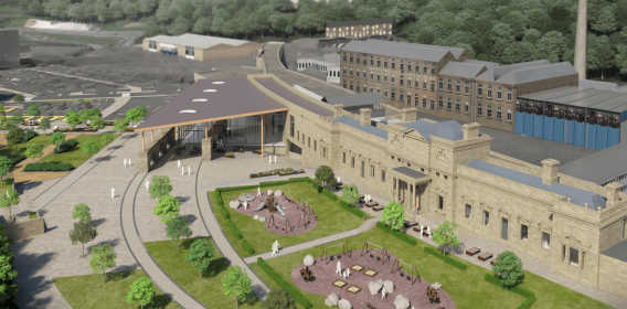 Concept design of Halifax train station
