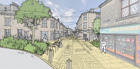 Elland Southgate proposal visual