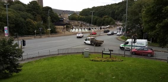 Keighley Road and Dean Clough