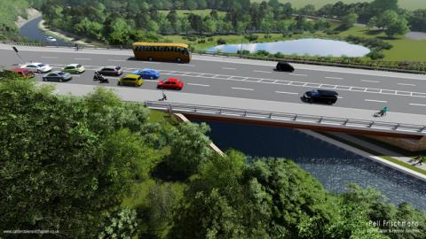 proposed calder and hebble junction scheme