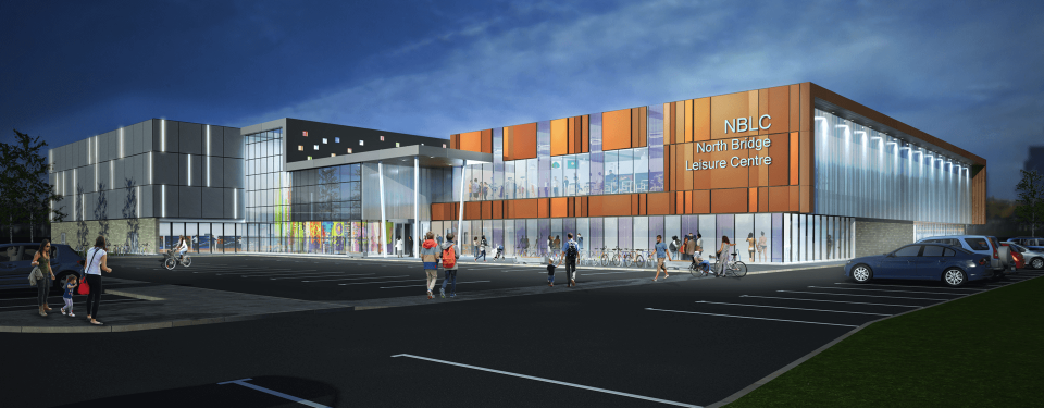 Haifax leisure centre concept design