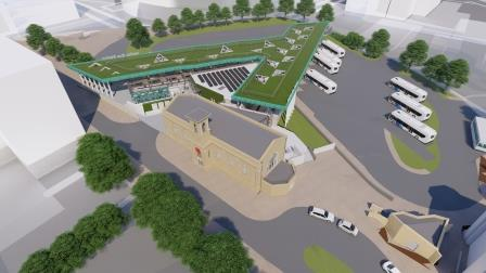 proposed Halifax Bus Station visual