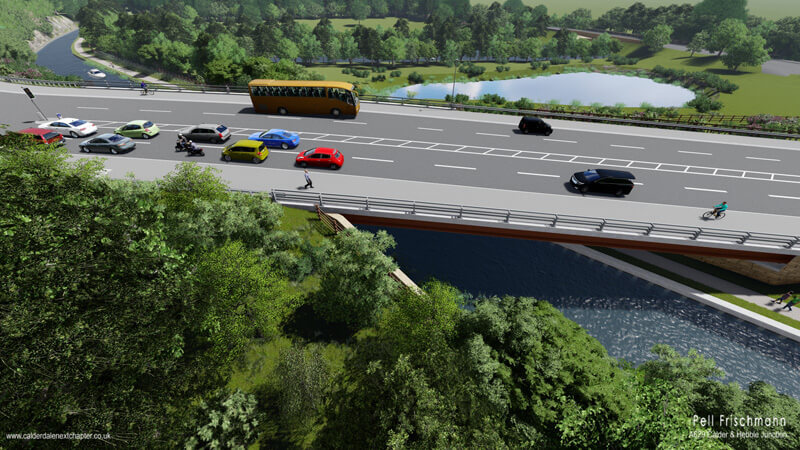 proposed calder and hebble junction scheme