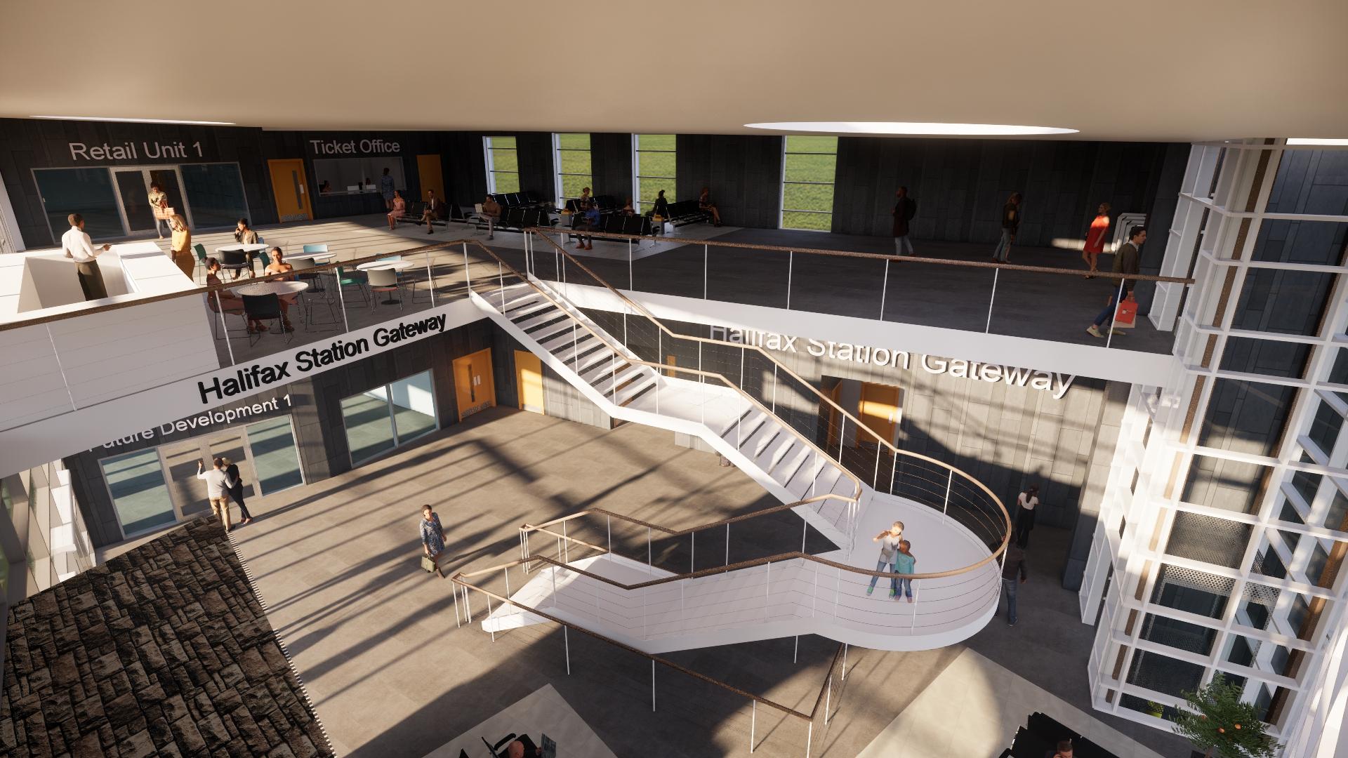 Halifax Railway Station building proposal